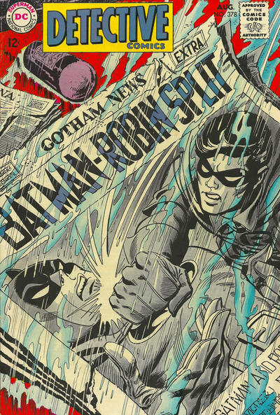 Cover for Detective Comics (DC, 1937 series) #378