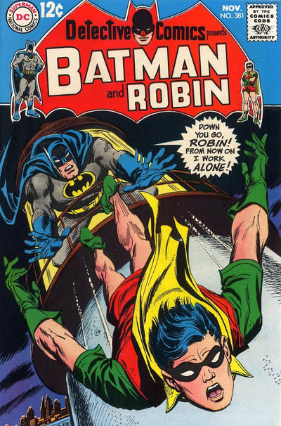 Cover for Detective Comics (DC, 1937 series) #381
