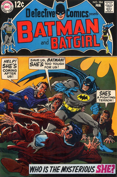Cover for Detective Comics (DC, 1937 series) #384