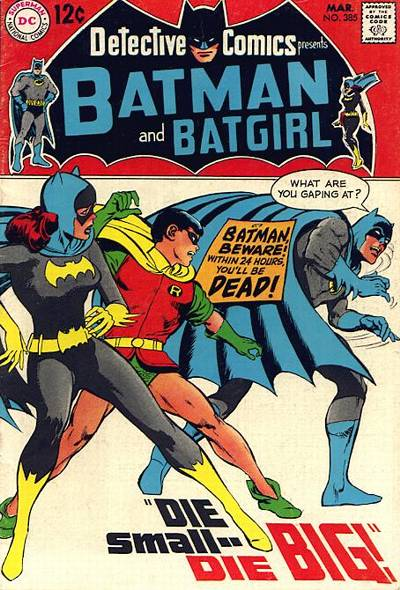 Cover for Detective Comics (DC, 1937 series) #385
