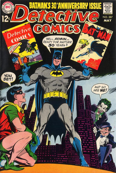 Cover for Detective Comics (DC, 1937 series) #387