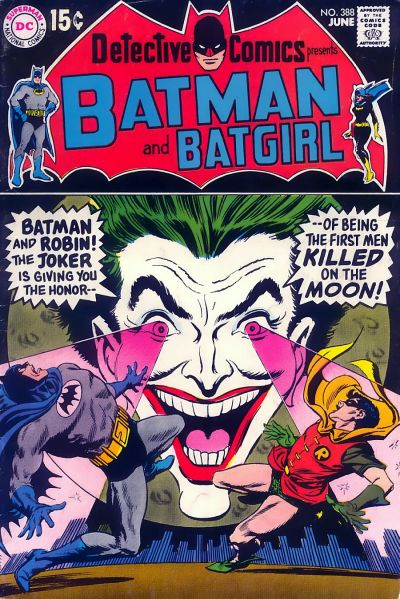 Cover for Detective Comics (DC, 1937 series) #388