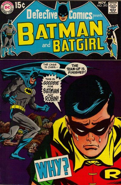 Cover for Detective Comics (DC, 1937 series) #393