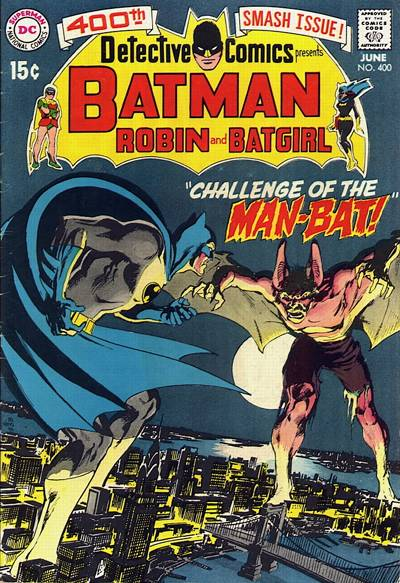 Cover for Detective Comics (DC, 1937 series) #400