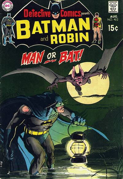 Cover for Detective Comics (DC, 1937 series) #402