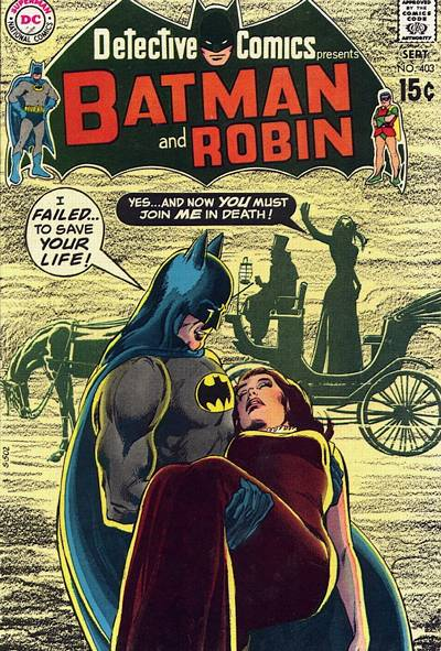 Cover for Detective Comics (DC, 1937 series) #403
