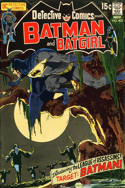 Cover for Detective Comics (DC, 1937 series) #405