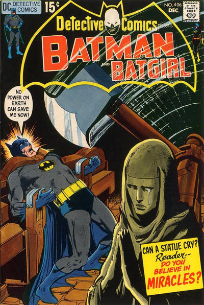 Cover for Detective Comics (DC, 1937 series) #406