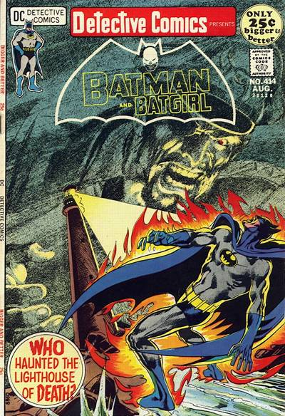 Cover for Detective Comics (DC, 1937 series) #414