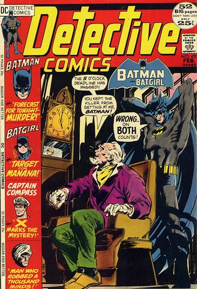 Cover for Detective Comics (DC, 1937 series) #420