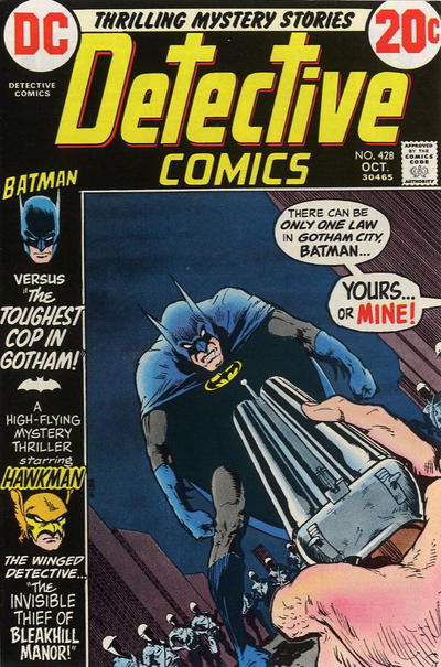 Cover for Detective Comics (DC, 1937 series) #428
