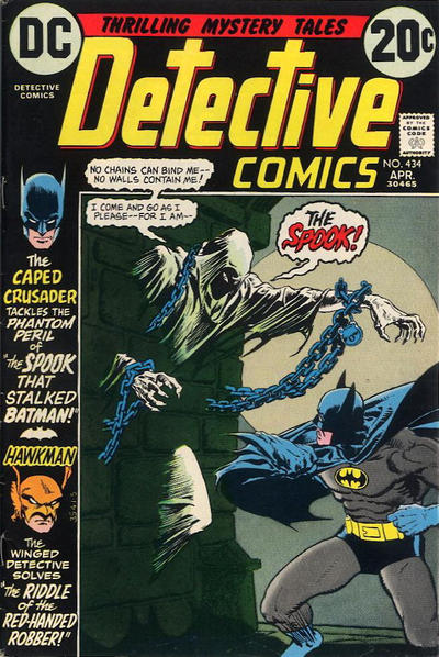 Cover for Detective Comics (DC, 1937 series) #434
