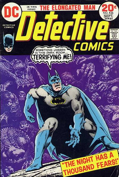 Cover for Detective Comics (DC, 1937 series) #436