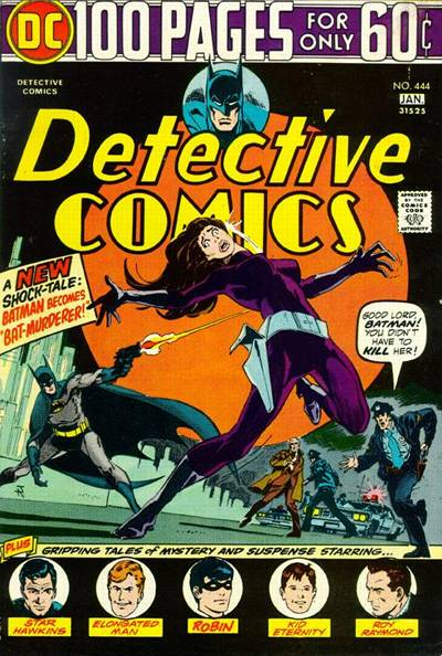 Cover for Detective Comics (DC, 1937 series) #444