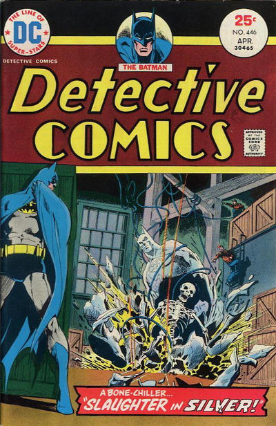 Cover for Detective Comics (DC, 1937 series) #446