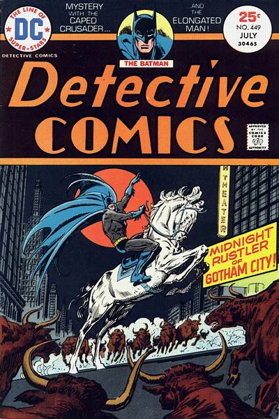 Cover for Detective Comics (DC, 1937 series) #449