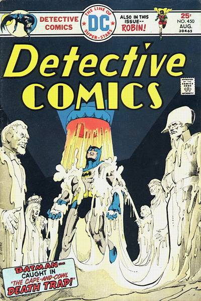 Cover for Detective Comics (DC, 1937 series) #450