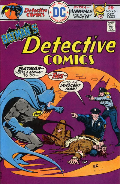 Cover for Detective Comics (DC, 1937 series) #454