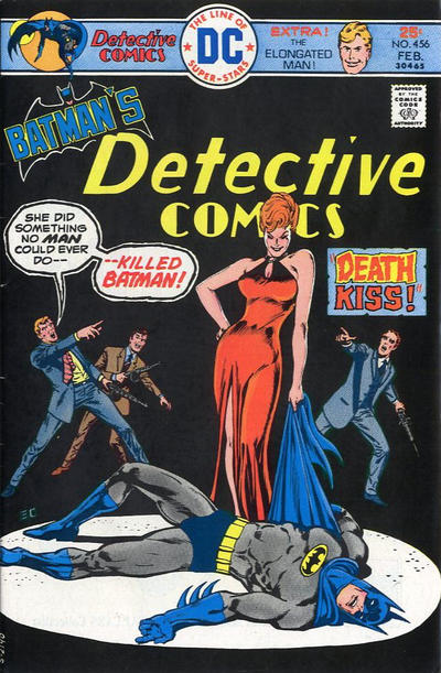 Cover for Detective Comics (DC, 1937 series) #456