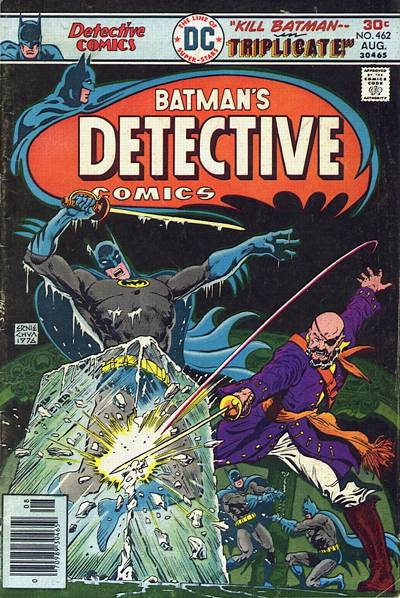 Cover for Detective Comics (DC, 1937 series) #462