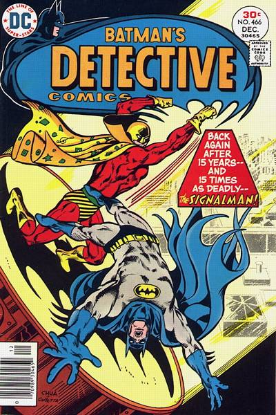 Cover for Detective Comics (DC, 1937 series) #466