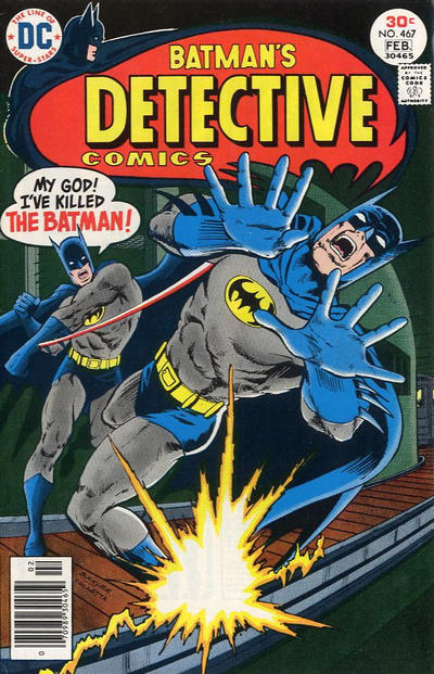 Cover for Detective Comics (DC, 1937 series) #467