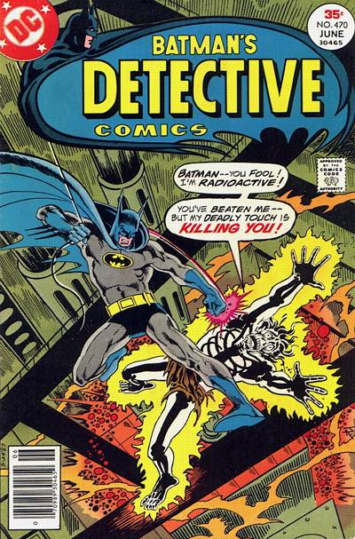 Cover for Detective Comics (DC, 1937 series) #470