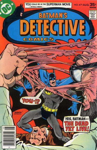 Cover for Detective Comics (DC, 1937 series) #471