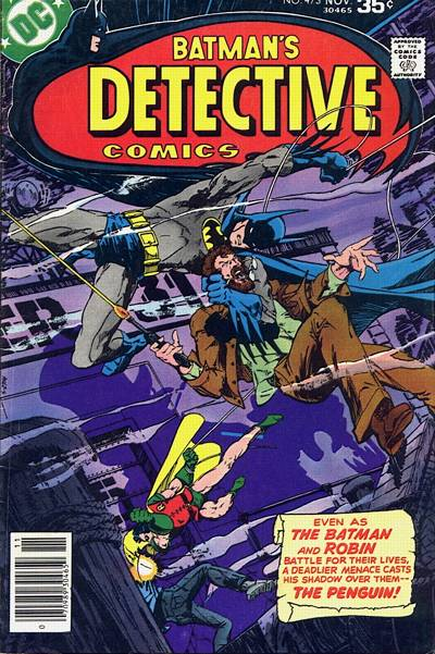 Cover for Detective Comics (DC, 1937 series) #473
