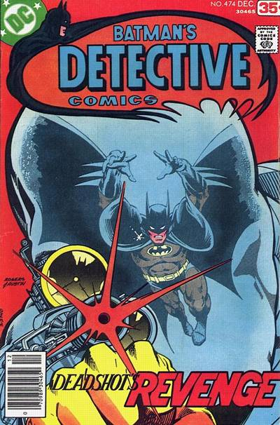 Cover for Detective Comics (DC, 1937 series) #474