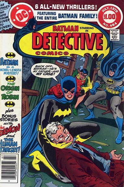 Cover for Detective Comics (DC, 1937 series) #484