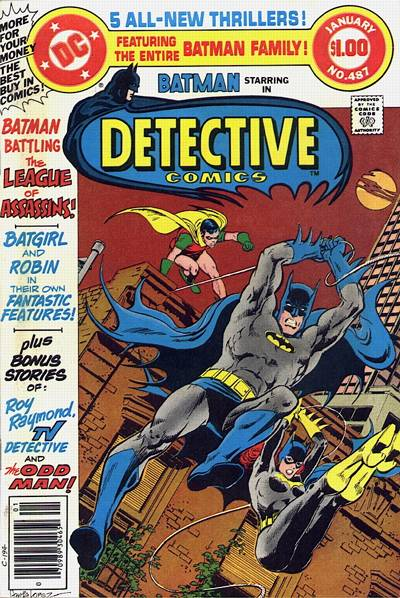 Cover for Detective Comics (DC, 1937 series) #487