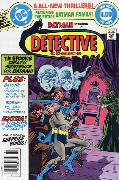 Cover for Detective Comics (DC, 1937 series) #488