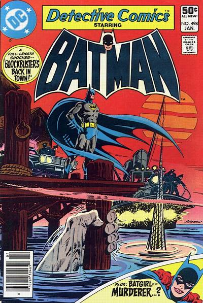 Cover for Detective Comics (DC, 1937 series) #498 [Direct Sales Variant]
