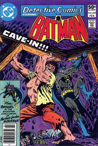 Cover for Detective Comics (DC, 1937 series) #499 [Direct]
