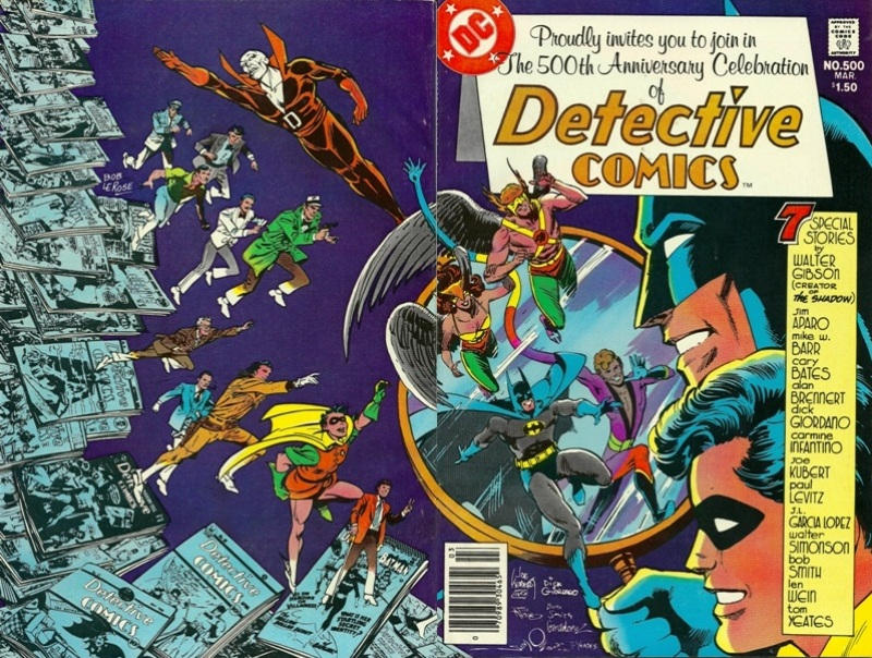 Cover for Detective Comics (DC, 1937 series) #500 [Direct Edition]