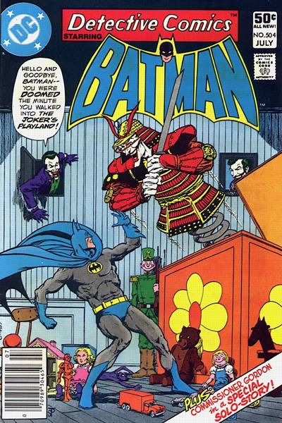Cover for Detective Comics (DC, 1937 series) #504 [Newsstand]