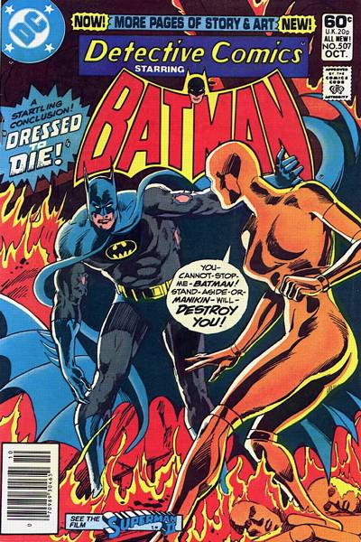 Cover for Detective Comics (DC, 1937 series) #507 [Direct Edition]