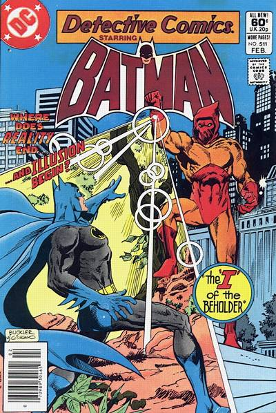 Cover for Detective Comics (DC, 1937 series) #511 [Direct Edition]