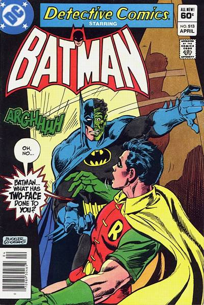 Cover for Detective Comics (DC, 1937 series) #513