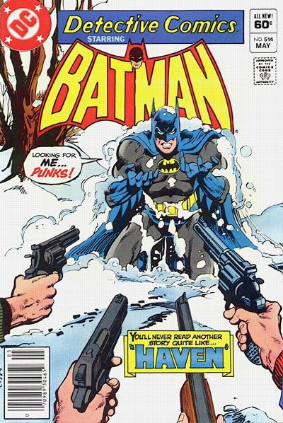 Cover for Detective Comics (DC, 1937 series) #514 [Direct Sales]