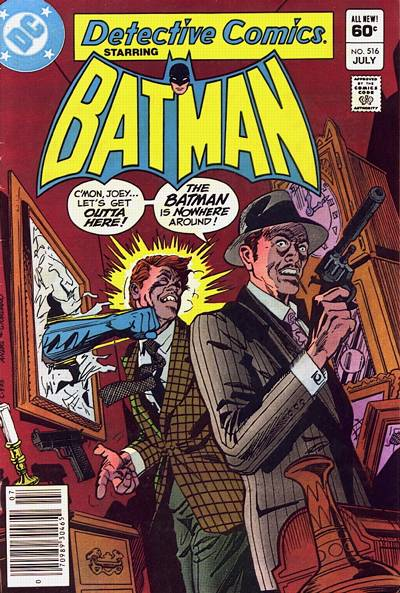 Cover for Detective Comics (DC, 1937 series) #516
