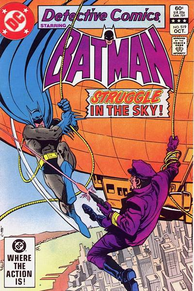 Cover for Detective Comics (DC, 1937 series) #519 [Direct]