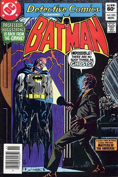 Cover for Detective Comics (DC, 1937 series) #520 [Direct Sales]