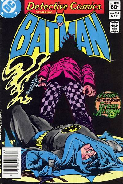 Cover for Detective Comics (DC, 1937 series) #524 [Newsstand]
