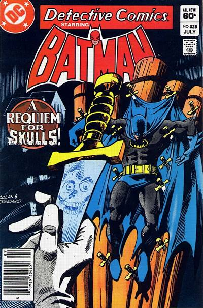 Cover for Detective Comics (DC, 1937 series) #528 [Direct-Sales]