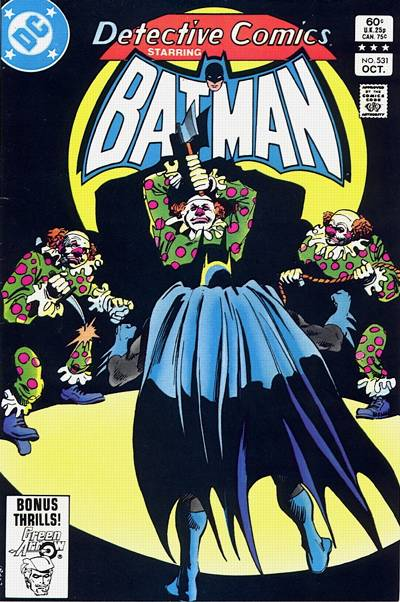 Cover for Detective Comics (DC, 1937 series) #531 [Direct Edition]