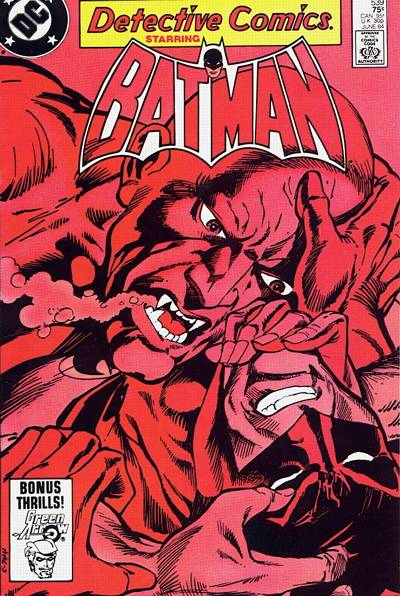 Cover for Detective Comics (DC, 1937 series) #539 [Newsstand]