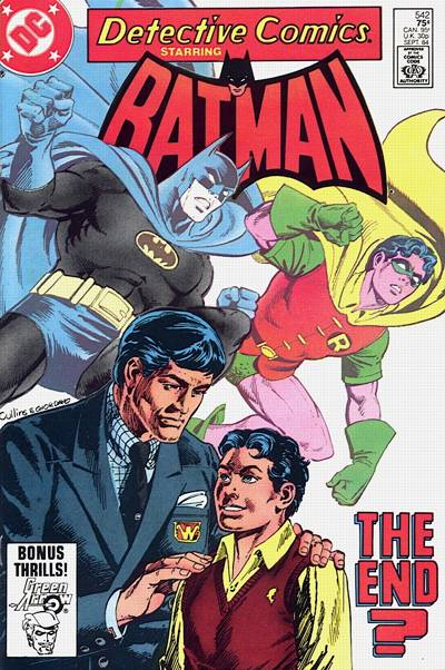 Cover for Detective Comics (DC, 1937 series) #542 [direct-sales]