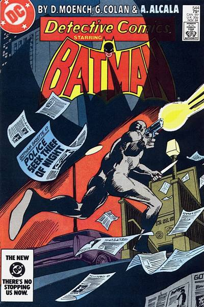 Cover for Detective Comics (DC, 1937 series) #544 [Direct]